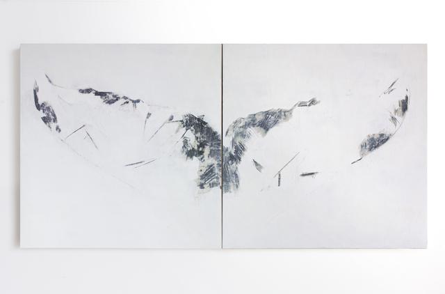 , 'Whale Fluke (Large White),' 2018, SILAS VON MORISSE gallery
