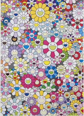 Takashi Murakami, 'An Homage to Yves Klein Multicolor D', Eternity Gallery