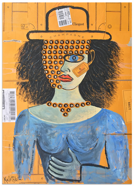 , 'Madame Clicquot,' 2016, Anna Zorina Gallery