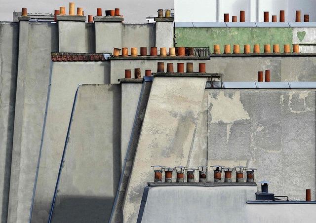 , 'Paris roof tops #04 ,' 2014, CHRISTOPHE GUYE GALERIE