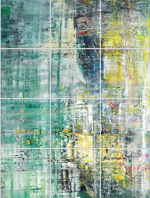 , 'Cage Grid II, 12 of total 16 parts B,C,D,F,G,H,J,K,L,N,O,P,' 2011, Mike Karstens Galerie