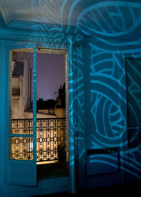 , 'Intérieur bleu,' 2016, Galerie Geraldine Banier