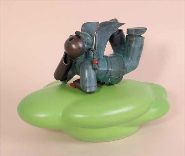 Jiang Shuo, 'Cloud rider - Light Green 腾云驾雾 - 嫩绿', 2008, Linda Gallery