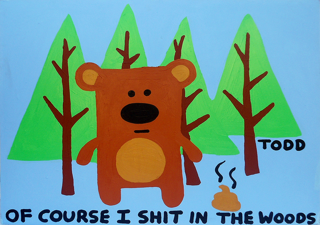, 'Shit in the Woods,' , The Ross Art Group Inc.