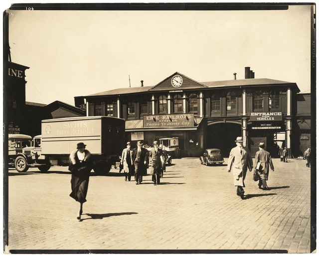 , 'Ferry, Chambers Street.,' 1936, The Old Print Shop, Inc.