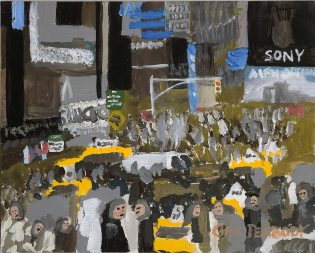 , 'Times Square Day,' 2015, Fountain House Gallery