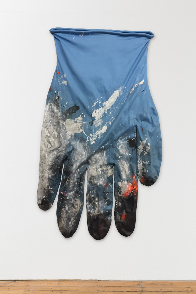 Amanda Ross-Ho, 'BLUE GLOVE,' 2014, Shane Campbell Gallery