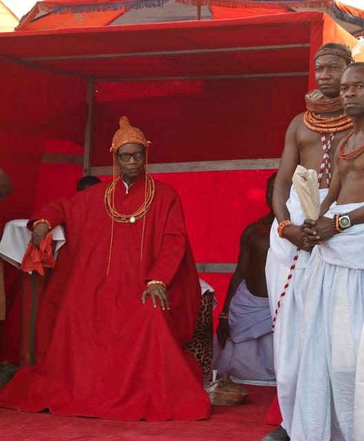 , 'HRM Solomon Akenzua, Oba Erediauwa of Benin Kingdom,' 2012, TAFETA