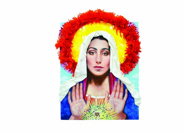 , 'Our Lady Cher,' 2018, THE WHITE ROOM GALLERY