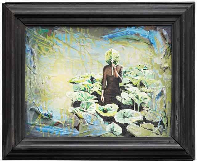 Andrea Damp, 'Seijalem (Frame 19th century)', 2018, Galerie Barbara von Stechow