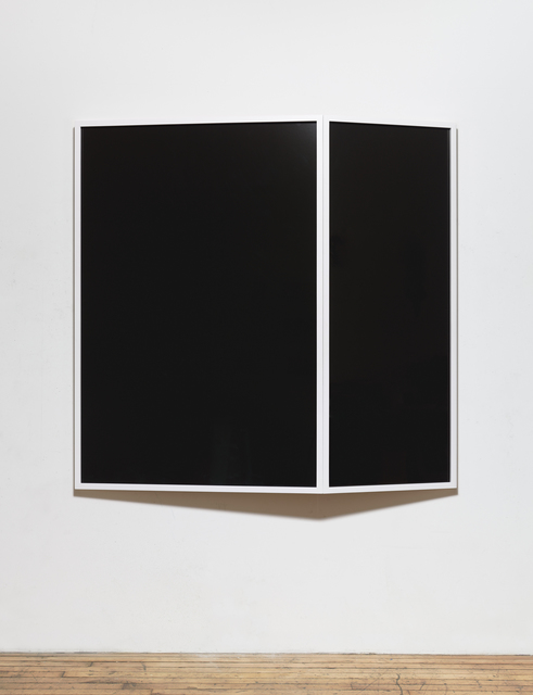 , 'Untitled (field of vision in two parts),' 2015, Campoli Presti