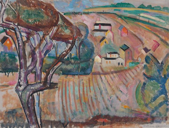 , 'Brandywine Landscape,' ca. 1918, WOLFS