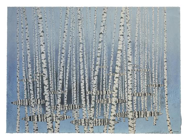 , 'Brouillard, reflets,' 2019, Le Salon Vert