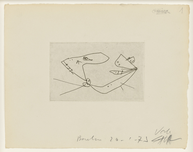 Antonio Saura, 'La Cámara Ardiente o Los Amores Célebres', 1977, Christie's
