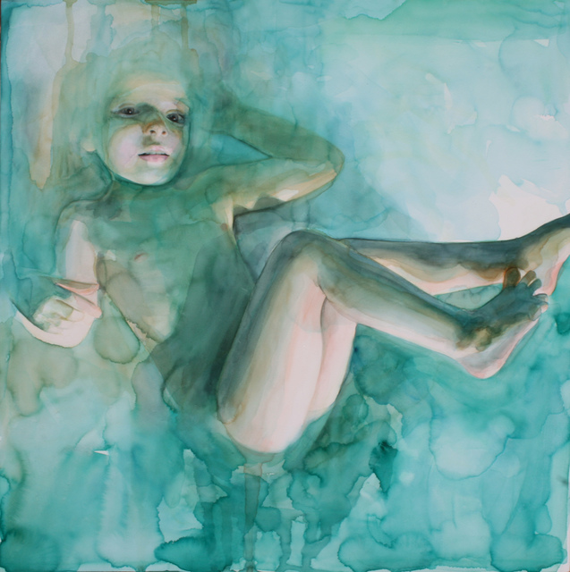 , 'In the Dream She was Floating, Not Completely Submerged,' 2015, Abend Gallery