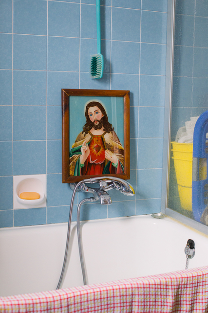 , 'Taking a Bath with Jesus,' 2018, Ostlicht. Gallery for Photography