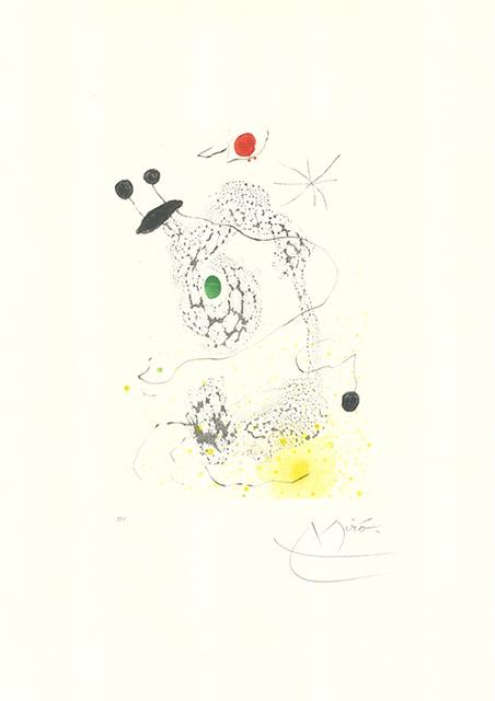 Joan Miró, 'Passacaille', 1968, Sylvan Cole Gallery