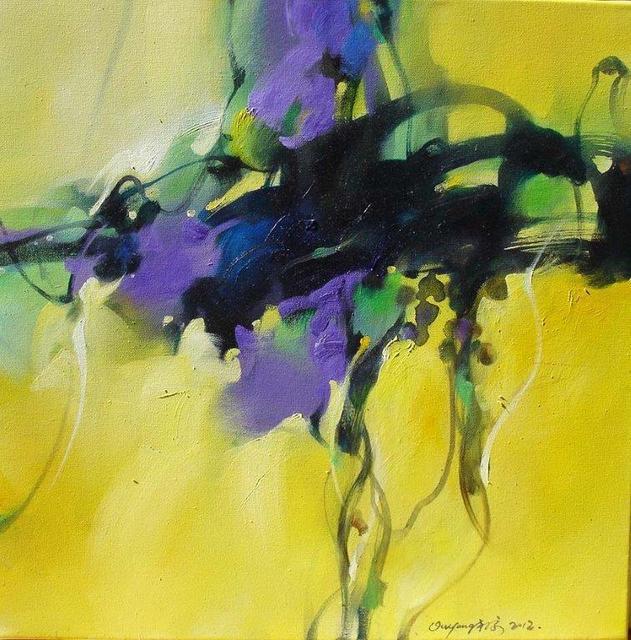 , 'Yellow Flower,' 2012, BAM Gallery