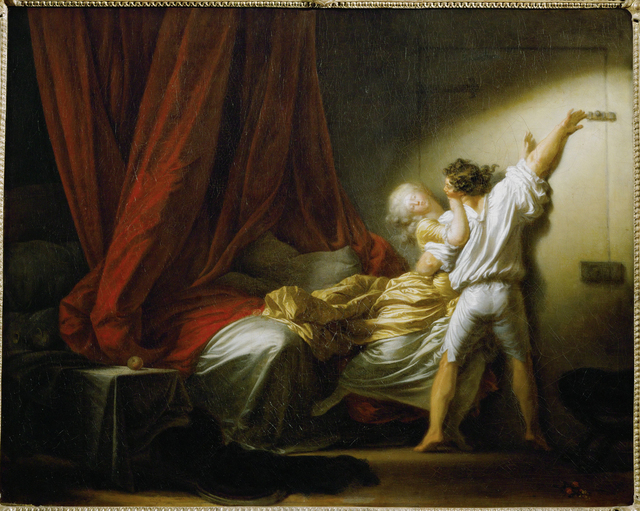 Jean-Honoré Fragonard, 'Le Verrou (The Bolt)', c. 1777, Musée du Louvre
