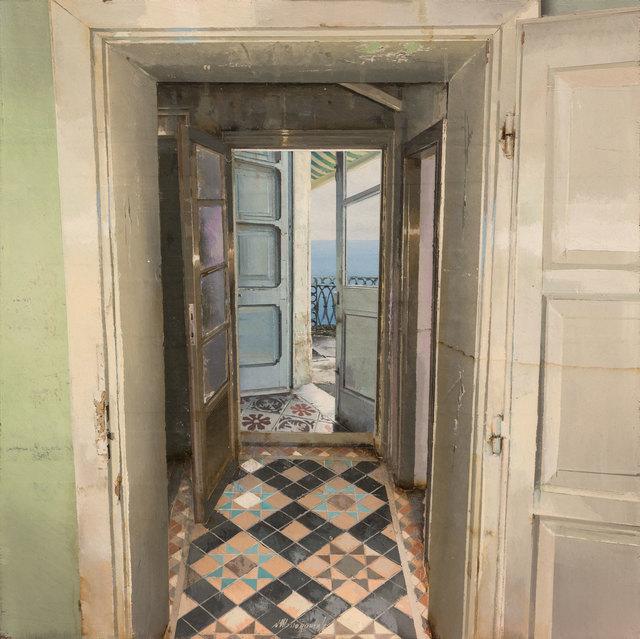 , 'La Porta Azzurra,' 2017, Pontone Gallery