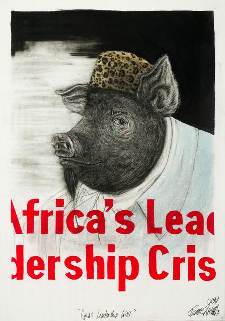 , 'Africa's Leadership Crisis,' 2017, Kalashnikovv Gallery