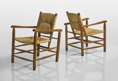 Pair of Armchairs, Model No. 21