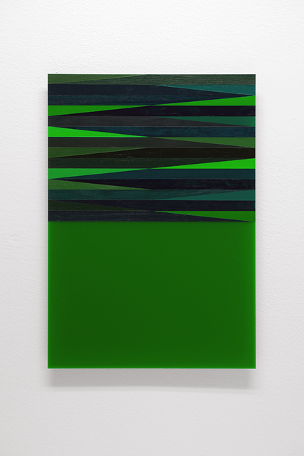 , 'The Green Series 1,' 2017, ELASTIC Gallery