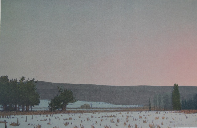 , 'WINTER DAWN AT SOUTH PARK,' 2001, Fitzwater Street Gallery