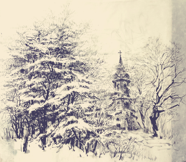 , 'Winter(Punsuwon Catholic Church, Hoengseong, Kangwondo, Korea),' , Gallery Doll