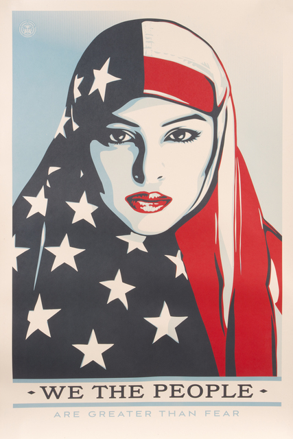 Shepard Fairey (OBEY), 'We the People', 2017, Julien's Auctions