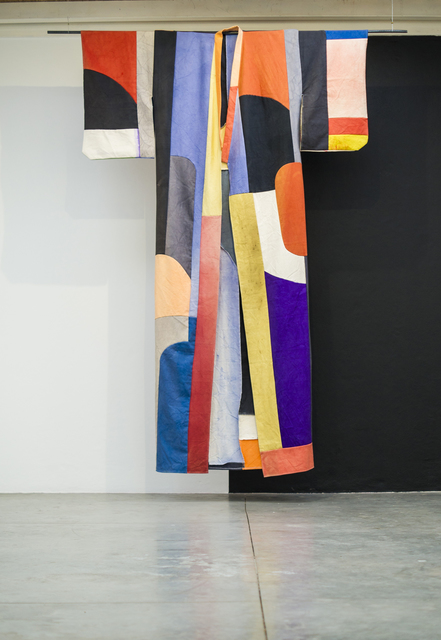 Pia Camil, 'Túnica para mujer', 2014, Painting, Hand dyed and stitched canvas., Instituto de Visión