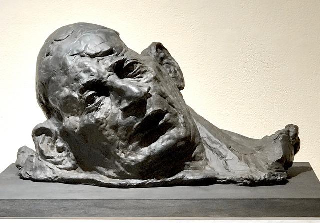 Robert Simon, 'Deposal (grounded head)', 2019, John Davis Gallery