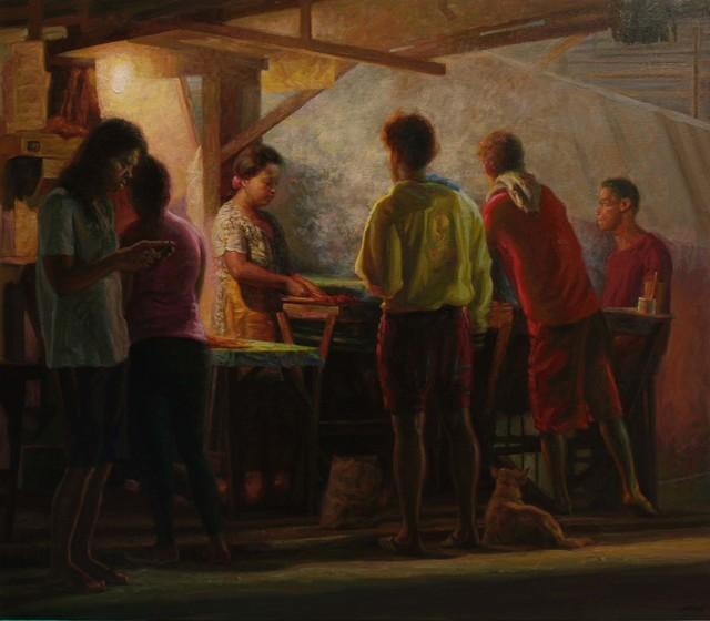 , 'The Ritual,' 2016, Qube Gallery