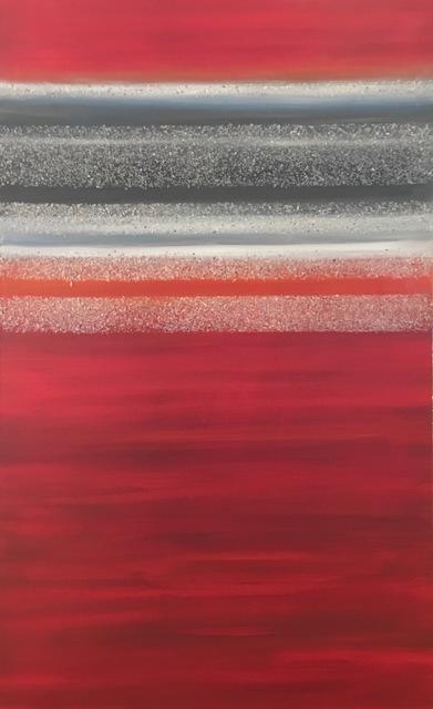 , 'Multiverse Red,' 2016, Hilton Asmus