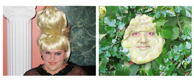 , 'Self-Portrait as Ivana Trump / Self-Portrait as An Artichoke in Ivana's Hair Totally Looks Like An Artichoke by catlovre2008,' 2012, The Hole