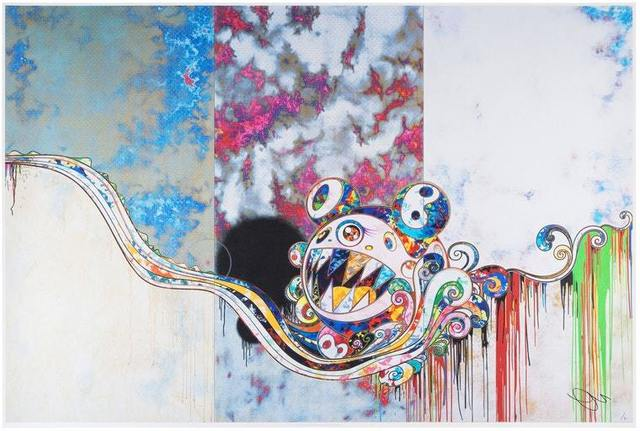 Takashi Murakami, '727 x 777', 2016, Print, Offset lithograph in colors with hot stamp, Pop Fine Art