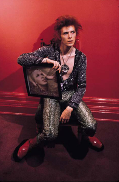 Mick Rock, 'Bowie, Hunky Dory', 1972, Mouche Gallery