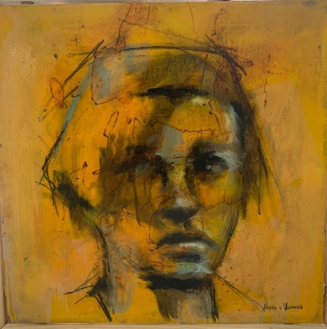 Johan van Vuuren, 'Yellow Head Study', 2019, Axis Art Gallery