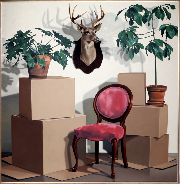 Bill Wiman, 'Texas Exotic', 1977, Painting, Oil on Canvas, RoGallery