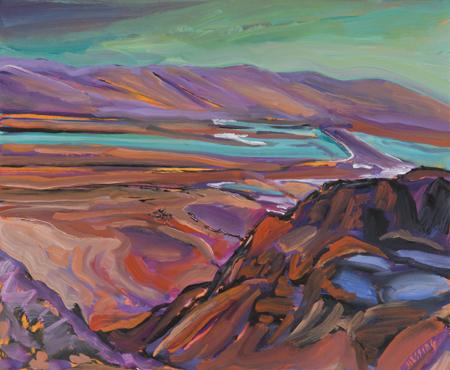 , 'Looking Down from Masada,' , Pucker Gallery