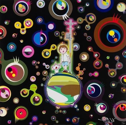 Takashi Murakami, 'JELLYFISH EYES', 2013, Marcel Katz Art