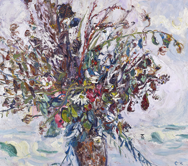 , 'Study of Dead and Dying Flowers,' , The Scottish Gallery