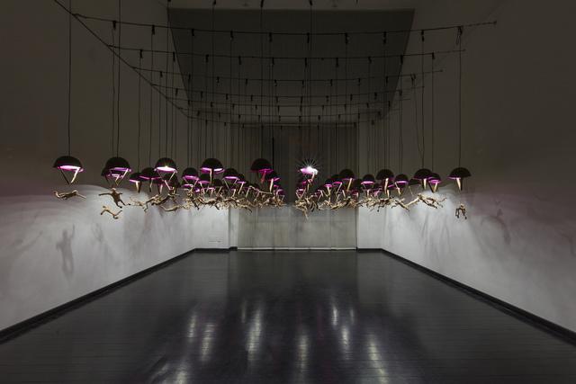 Oleg Kulik, 'Parachutists', 2019, Galleria Pack