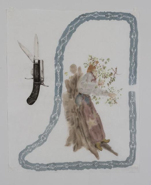 , 'Weeds that constitute her garden,' 2018, galerie du jour agnès b.