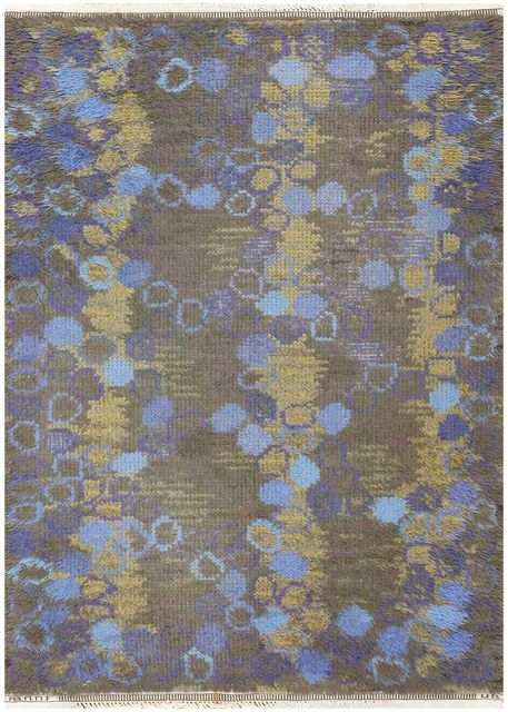 Märta Måås-Fjetterström, 'Vintage Scandinavian Carpet ', ca. 1950, Nazmiyal Collection