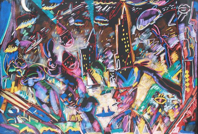 Carlos Almaraz, 'Laughing and Crying', 1987, Robert Berman Gallery