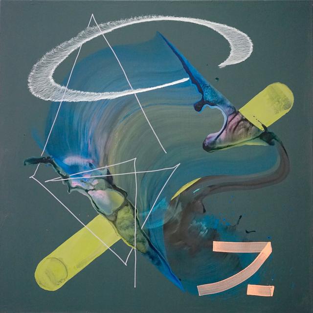 , '13 Strokes,' 2017, Galerie Schimming