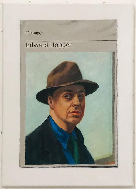 Hugh Mendes, 'Obituary: Edward Hopper', 2018, Robert Fontaine Gallery