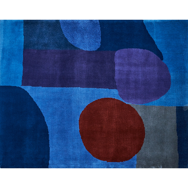 """After Paul Klee, 'Wall-hanging tapestry, """"Bleu-Rouge""""', 1970s, Rago"""