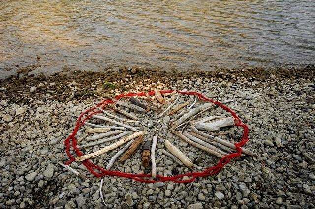 , 'Beach: Campfire Ban,' 2017, Abbozzo Gallery